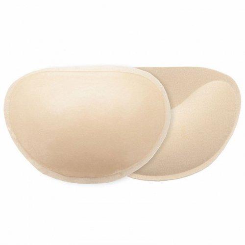 Wkładki przylepne do stanika - Bye Bra Adhesive Push-Up Pads Nude