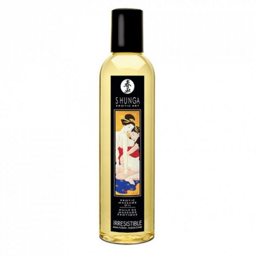 Olejek do masażu - Shunga Massage Oil Irresistible Asian Fruits Nieodparty