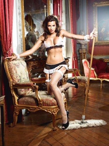 Przebranie pokojówki - Baci Do Not Disturb French Maid Set S/M