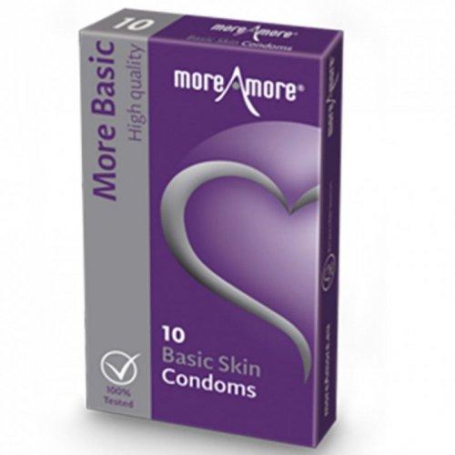 Prezerwatywy - MoreAmore Condom Basic Skin 10 szt