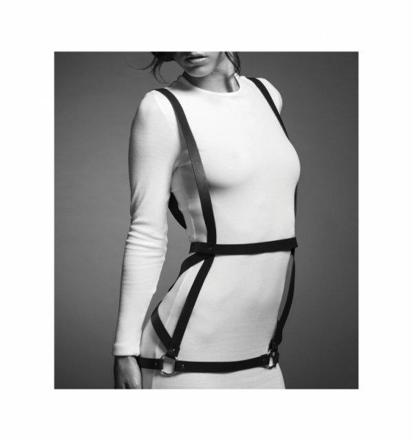 Uprząż - Bijoux Indiscrets - MAZE Arrow Dress Brown