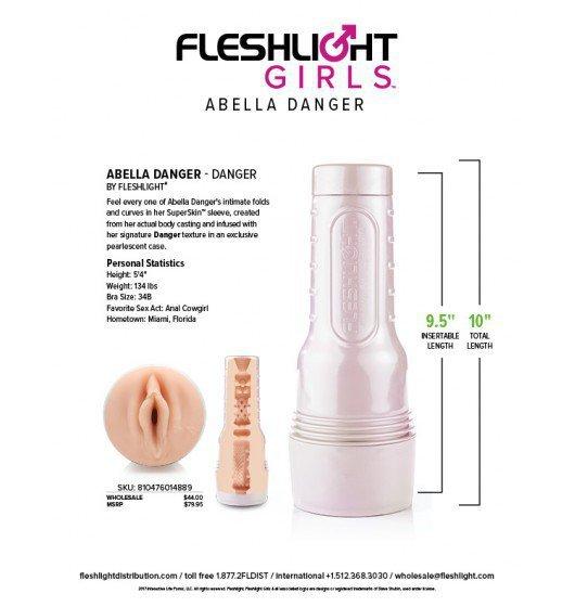 Masturbator Fleshlight Girls Abella Danger Danger