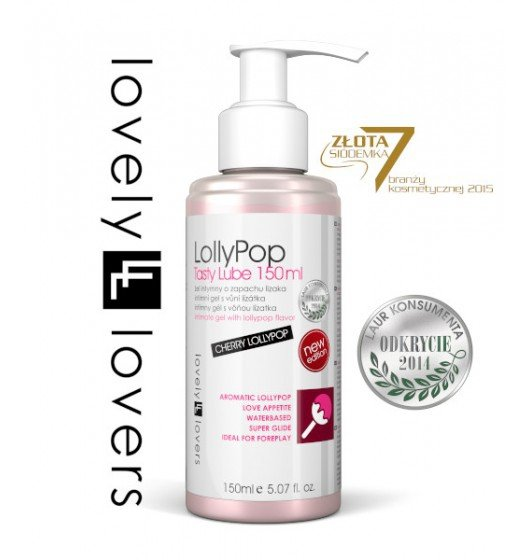 Lovely Lovers LollyPop Tasty Lube 150 ml
