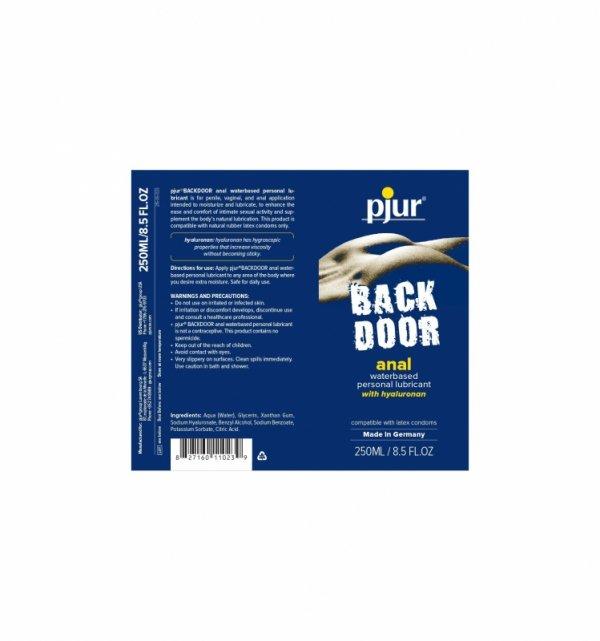 pjur Back Door Comfort Anal Glide 250 ml