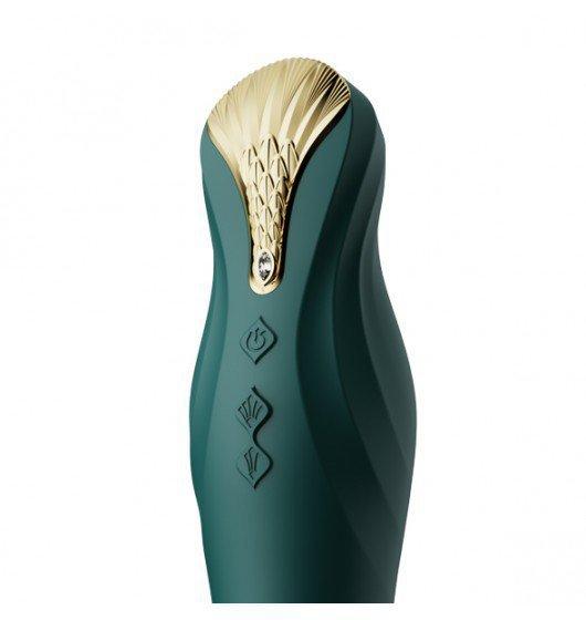 Zalo King Vibrating Thruster Turquoise Green