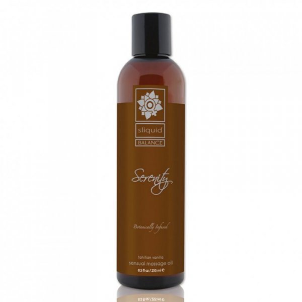 Olejek do masażu - Sliquid Balance Massage Serenity 255 ml