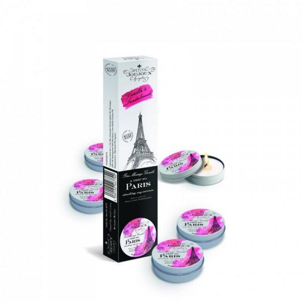 Świeca do masażu - Petits Joujoux Massage Candle Paris 33 gram 5szt