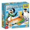 Klocki Misja ZOO - gra Pingwiny z Madagaskaru