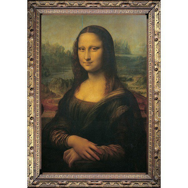 1000 elementów, Mona Lisa