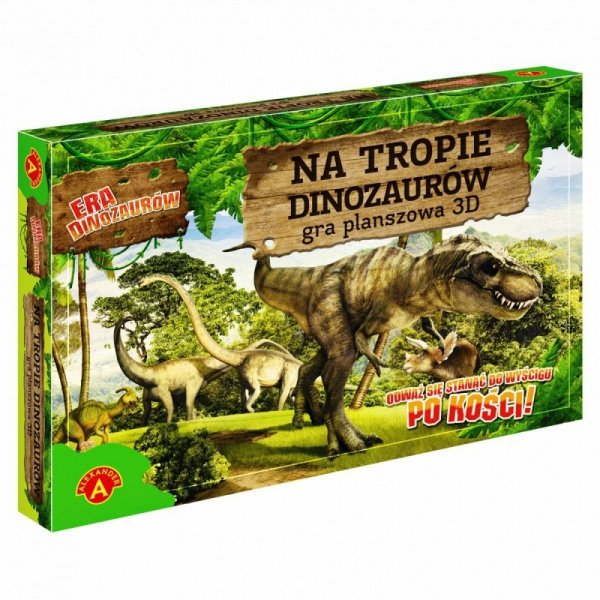 Gra 3D na tropie dinozaurów