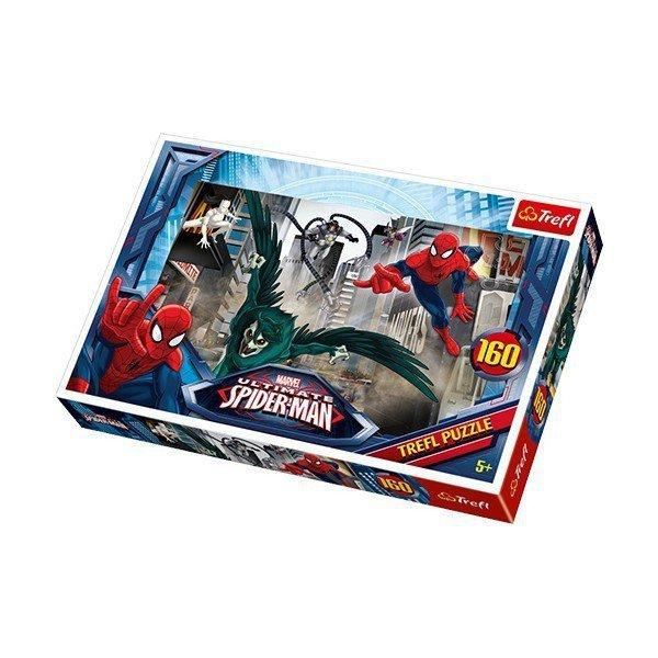 160 elementów, Spiderman W pogoni za złoczyńcą