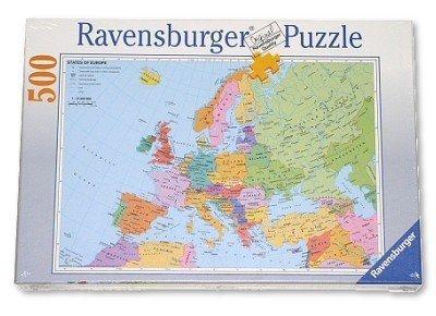 RAVEN. 500 EL. Polityczn a Mapa Europy