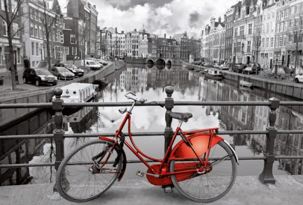 Puzzle 3000 elementów, Amsterdam