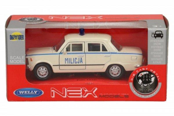WELLY Fiat 125P Milicja 1/34