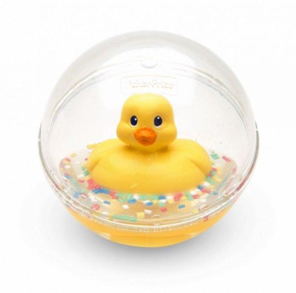 Kaczuszka kąpielowa, żółta