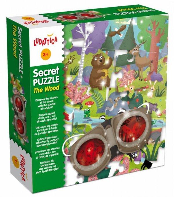 Ludattica Sekretne puzzle - las