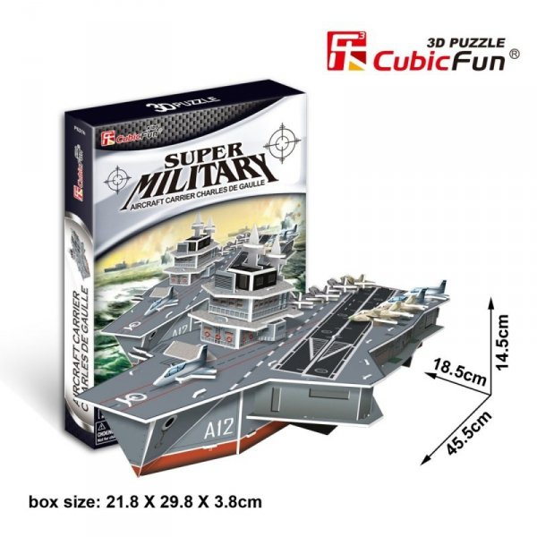 Puzzle 3D Aircraft Carrier Charles