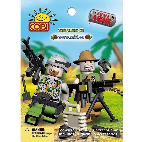 Klocki Armia 1 Figurka z akcesoriami,  seria 3