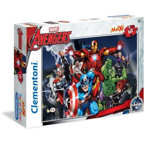 60 ELEMENTÓW MAXI The Avengers