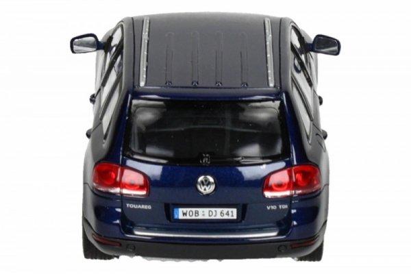 Volkswagen Touareg, niebieski