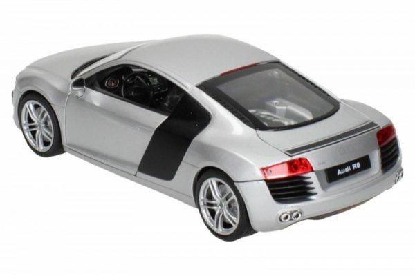 Audi R8, srebrne