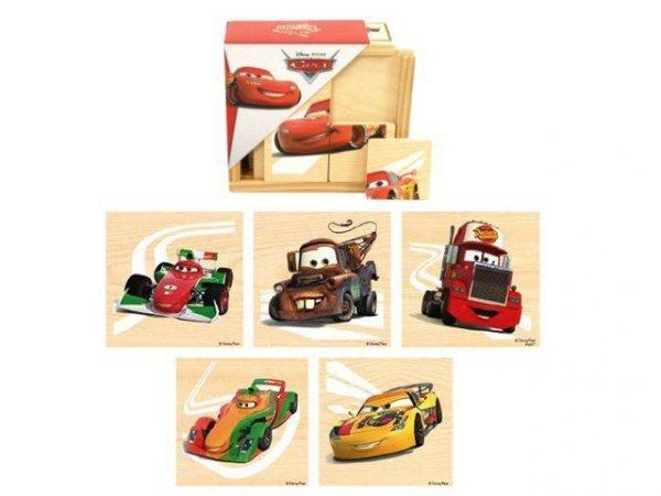 Drewniane puzzle Cars