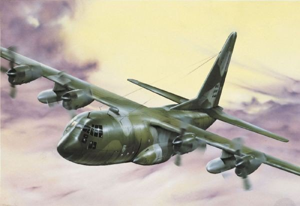 ITALERI C-130 E/H Hercul es