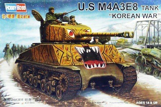 HOBBY BOSS US M4A3E8 Korean War