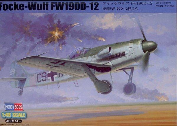 HOBBY BOSS Focke-Wulf FW 190D-12