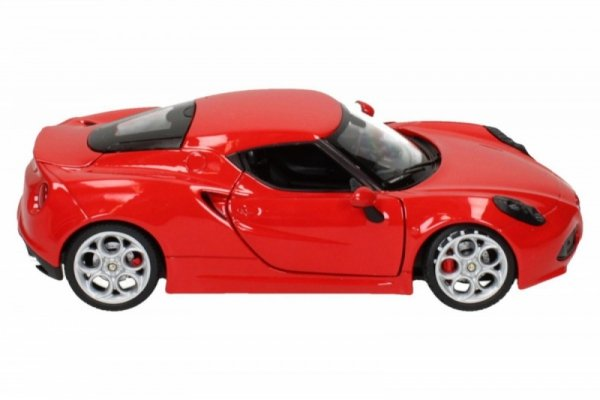Alfa Romeo 4C, czerwony