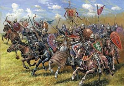 Russian Mounted Knights