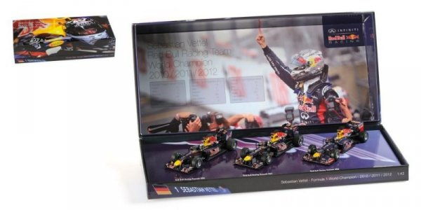 3 Car Set Red Bull Racing