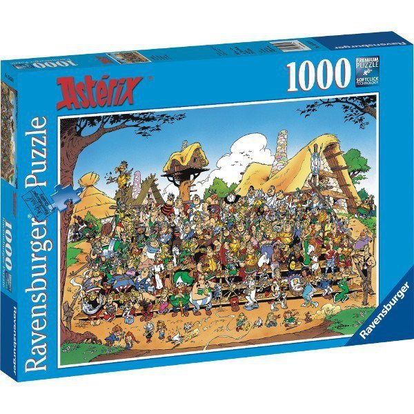 RAVEN. 1000 EL. Asterix zdjęcie rodzinne