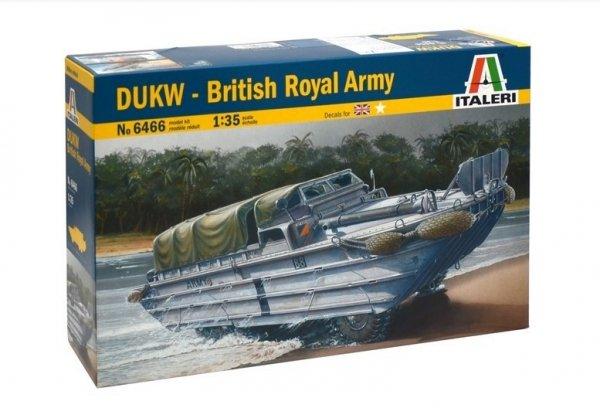 ITALERI DUKW British Royal Army