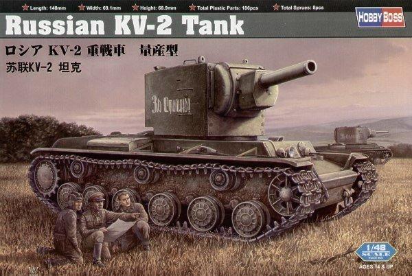 HOBBY BOSS Russian KV-2 Tank