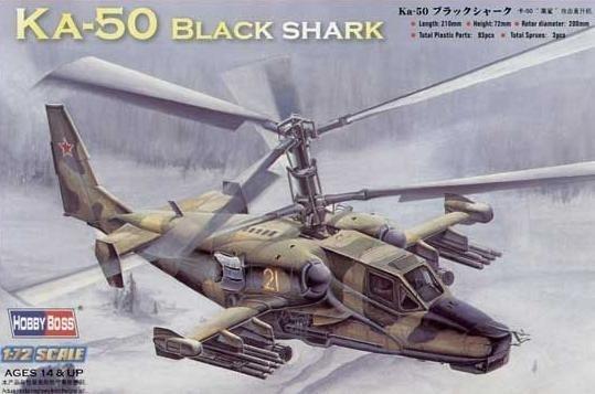 HOBBY BOSS Kamov Ka-50 B lack Shark