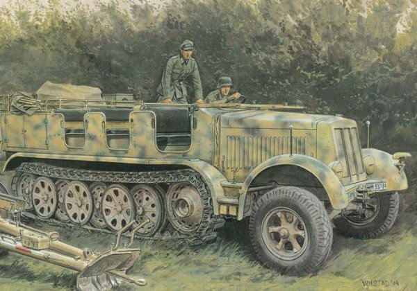 Sd.Kfz.7 8(t) Typ HL m 11 1943