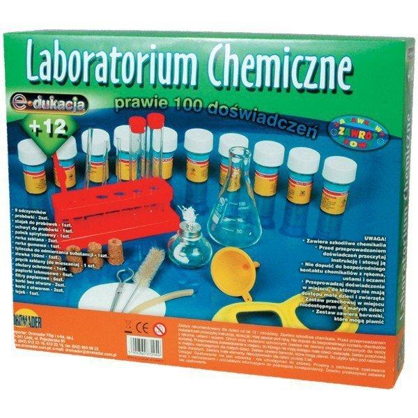 Chemik Zestaw 100 doświadczeń
