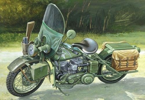 US Army WWII Motorcycle