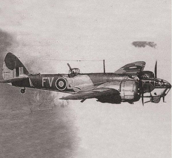 British Bomber Bristol Blenheim