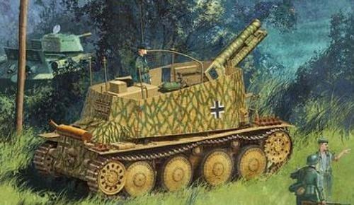 DRAGON Sd.Kfz.138/1 Gesc hützwagen 38