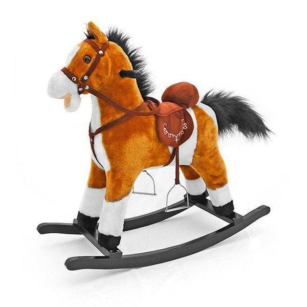 Koń Mustang jasny brąz