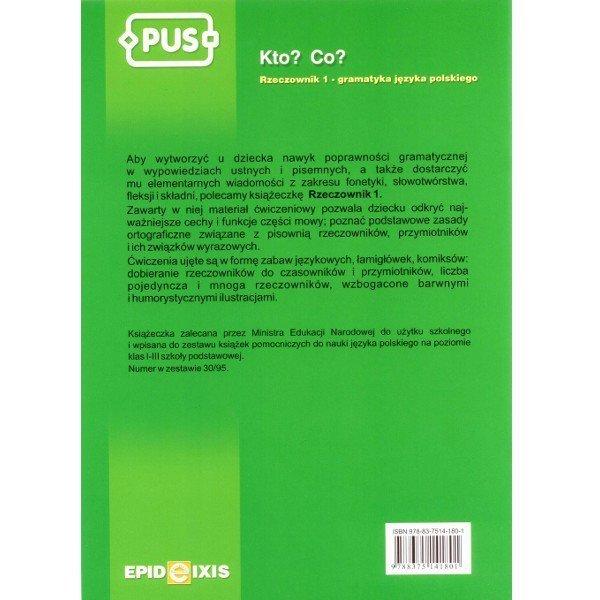 PUS Książka Rzeczownik 1