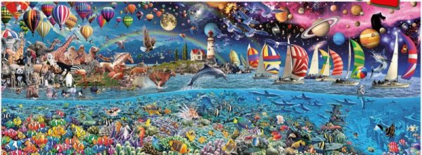 Puzzle 24000 elementów, Life The Greatest
