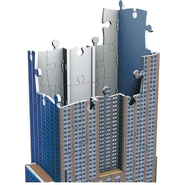 RAVEN. 216 EL. 3D Empire State Building