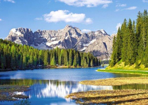 3000 elementów, Jezioro Misurina, Italia