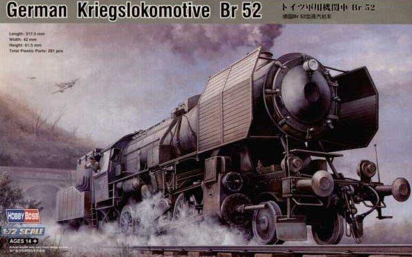 HOBBY BOSS German Kriegslokomotive Br 52
