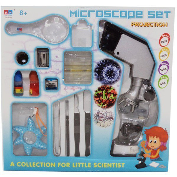 SWEDE Mikroskop 900x