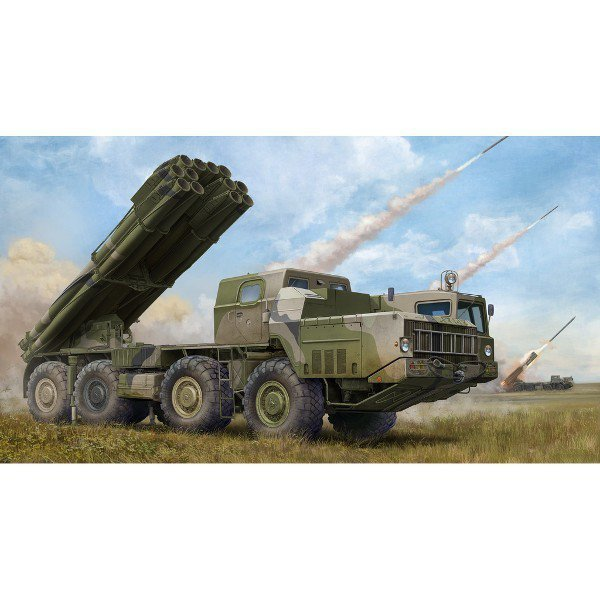 TRUMPETER Russian 9A52-2 Smerch-M multip