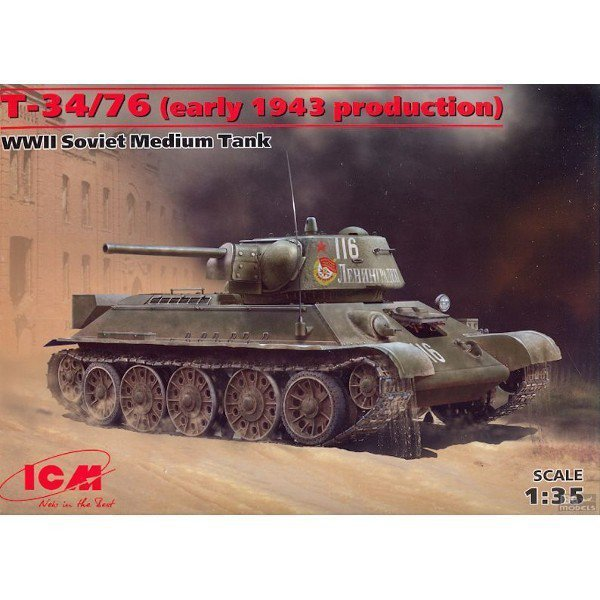 ICM T-34/76 (early 1943 production)